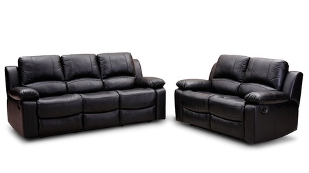 кожаная мебель после чистки